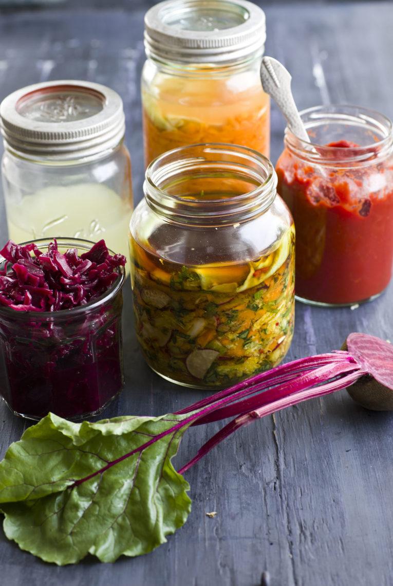 fermentert mat oppskrifter