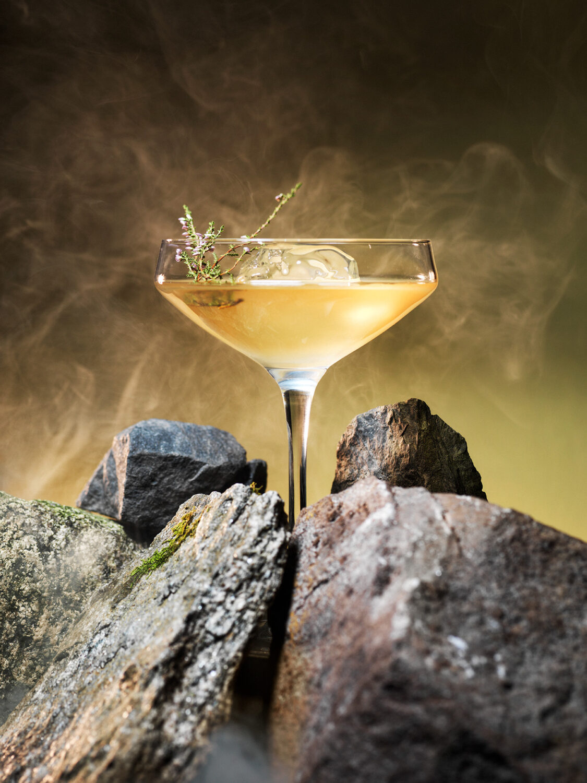 Villbrygg cocktail drink Viking i Japan Foto Dag Dalvang