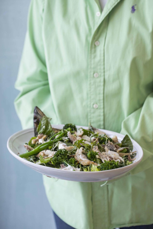 Salat Med Rokt Makrell