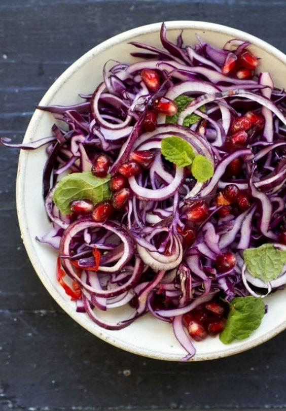 Rødkålsalat
