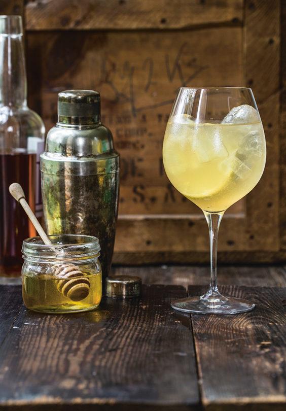 Honning Spritz Drink Ren Mat Nadinmartinuzzi