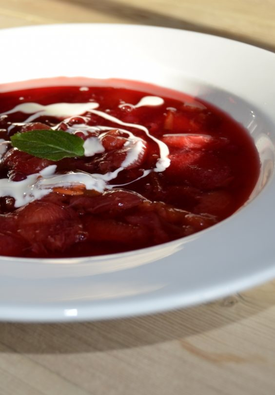 Plommesuppe 1